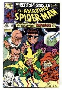 AMAZING SPIDER-MAN #337 comic book 1990-MARVEL COMICS vf+