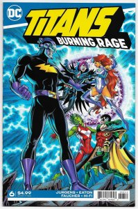 Titans Burning Rage #6 (DC, 2020) NM