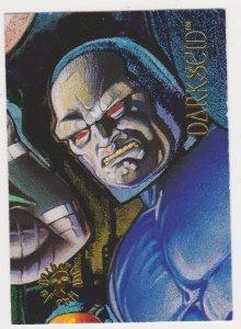 1995 DC Villains Gathering of Evil #GE-5 Darseid Card