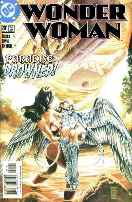 Wonder Woman (2nd Series) #201 FN; DC | save on shipping - details inside