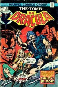 Tomb of Dracula (1972 series) #31, VF- (Stock photo)