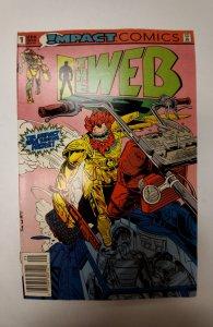The Web #1 (1991) NM Impact Comic Book J651