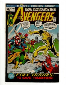 Avengers # 101 VF/NM Marvel Comic Book Hulk Thor Captain America Iron Man OF2