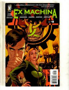 Lot Of 10 WildStorm Comics Ex Machina # 18 19 20 21 22 23 25 27 30 31 J363