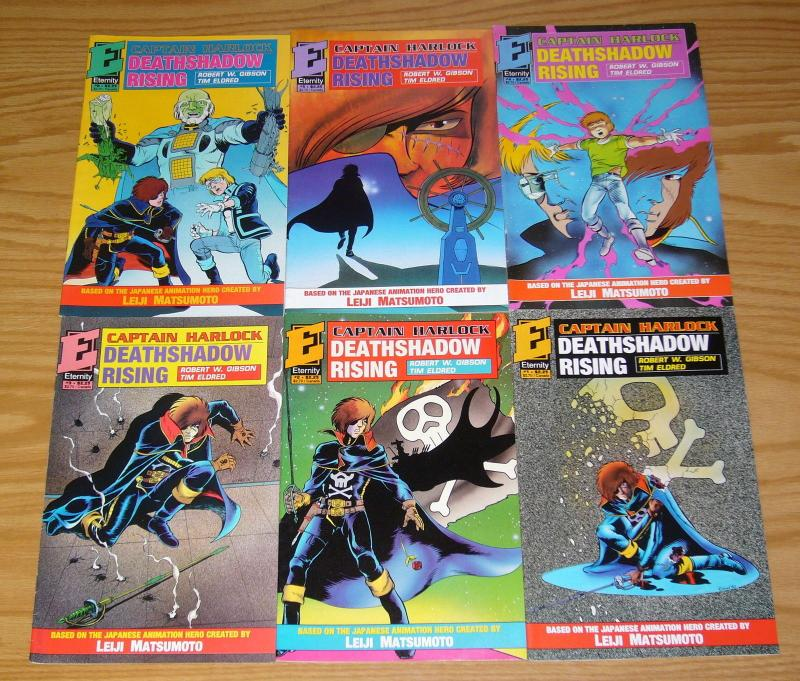 Captain Harlock: Deathshadow Rising #1-6 VF/NM complete series eternity set lot