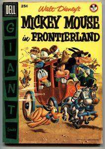 WALT DISNEY'S MICKEY MOUSE IN FRONTIERLAND #1-1956- -comic book DELL