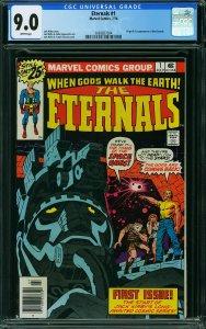 Eternals #1 (Marvel, 1976) CGC 9.0