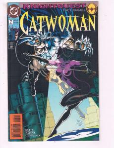 Catwoman #7 VF DC Comics Knightquest Comic Book Duffy Batman Joker DE20
