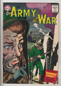 Our Army at War #69 (Apr-58) VF High-Grade