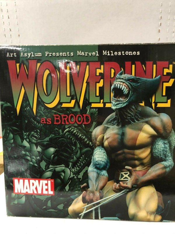 WOLVERINE BROOD Art Asylum by Ken Usanami! 212/2500 in BOX Low number