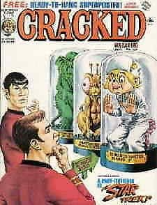 Cracked #127 VG; Globe   low grade comic - save on shipping - details inside