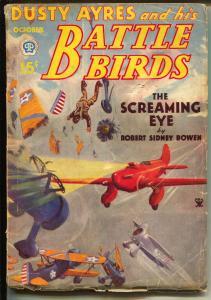 Dusty Ayres and His Battle Birds 10/1934-fantasy air war pulp hero-VG
