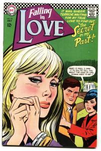 FALLING IN LOVE #92 1967 DC ROMANCE COMICS VF/NM