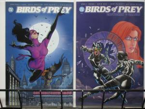 BIRDS OF PREY BATGIRL/CATWOMAN/ORACLE (DC, 2003)#1-2 VF-NM COMPLETE! Batman!