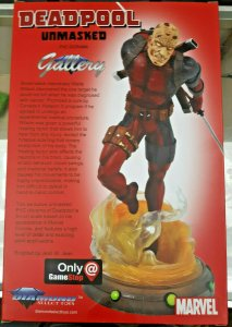 Deadpool Unmasked 9 PVC Marvel Gallery Statue - Game Stop - 2020 - NEW