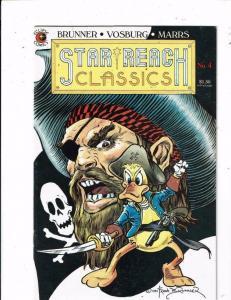 STAR REACH CLASSICS #4, VF/NM, Frank Brunner, Howard the Duck, Eclipse 1984