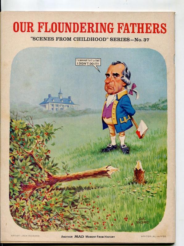 MAD Magazine #166-1974-Middle Finger-Drucker-Berg-Aragones-FN