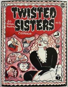 TWISTED SISTERS COMICS #4 (Kitchen Sink, 1995) Aline Kominsky-Crumb VF-NM