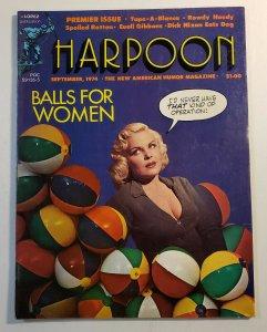 Harpoon American Humor Magazine Premier Issue 1974 FN/VF Condition