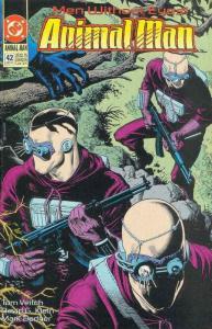 Animal Man #42 VF; DC | save on shipping - details inside