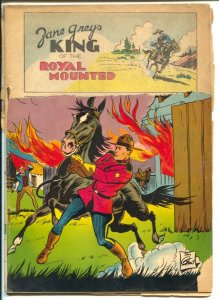 King Of The Royal Mounted-Four Color Comics #207 1948-Zane Grey-P
