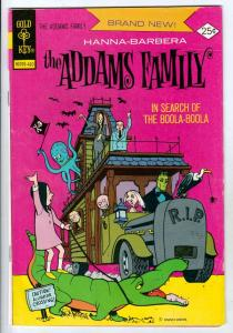 Adams Family #1 (Oct-74) FN/VF Mid-High-Grade Gomez, Morticia,Pugsly, Wednesd...