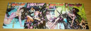 A Girl Called Willow #0 & 1-2 VF/NM complete series + sketchbook - bad girl set