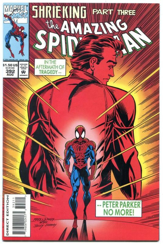 AMAZING SPIDER-MAN #392 1994 comic  ASM #50 SWIPE Marvel