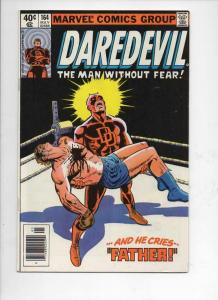 DAREDEVIL #164 VF  Murdock, Frank Miller, 1964 1980, more Marvel in store
