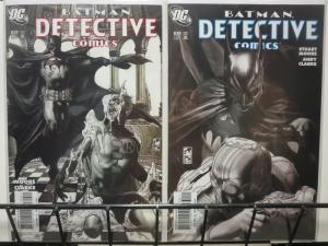 DETECTIVE 829-830  The Siege complete story arc! COMICS BOOK