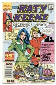 Katy Keene #23 1987- Archie Romance comic FN-