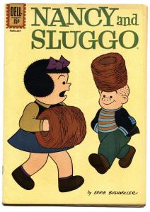 Nancy and Sluggo #186 1962- PEANUTS- Dell Comics