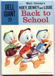 Huey Dewey & Louie Back To School #22 1959- Dell Giant VG+