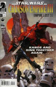 Star Wars: Crimson Empire III—Empire Lost #5 VF/NM; Dark Horse | save on shippin