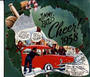 They'll Do It Every Time 1958 Calendar-Jimmy Hailo RARE