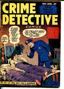 Crime Detective Vol. 2  #2 1948-Hillman-criminals rousted out of bed-G/VG