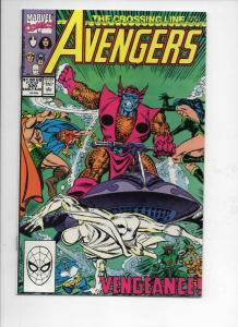 AVENGERS #320, VF/NM, Captain America, Crossing Line, 1963 1990, Marvel