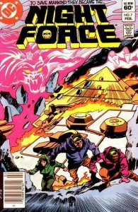 Night Force #7 (Newsstand) VF; DC | save on shipping - details inside