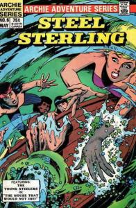 Steel Sterling #6 VF/NM; Red Circle | save on shipping - details inside