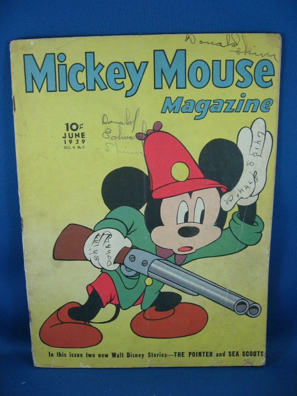 MICKEY MOUSE MAGAZINE Vol 4 #9 Good 1939
