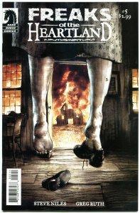 FREAKS of the HEARTLAND #5, NM+, Steve Niles, Monsters, more Horror in store