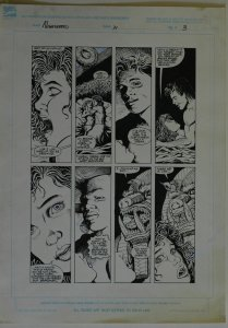 COLLEEN DORAN / JD PASCALE original art, NIGHT BREED #21 pg 3, Clive Barker