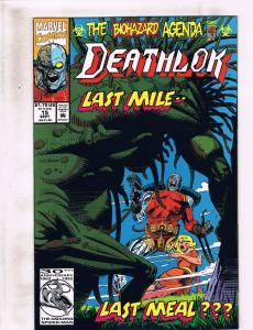 Lot of 3 Deathlok Marvel Comic Book #15 16 17 KS2