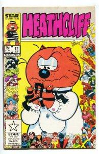 HEATHCLIFF #12 Marvel/Star 1986 Anniversary cvr-VF