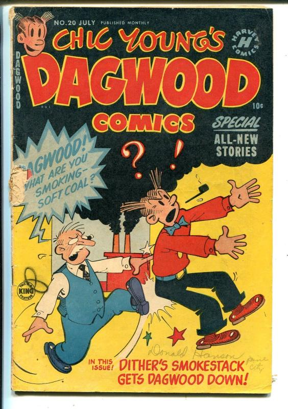 Dagwood #20 1952-Harvey-Chic Young-Blondie-Popeye-FR