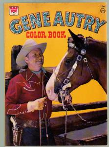 Gene Autry Coloring Book #1044 1975-39¢ cover price-unused-VF+