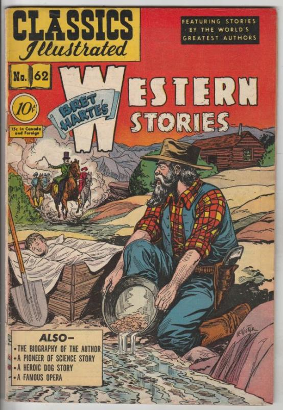 Classics Illustrated #62 (Aug-49) VG/FN+ Mid-Grade