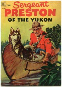 Four Color #373 1952- Sergeant Preston- 2nd issue- RCMP FN+