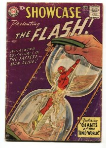 SHOWCASE  #14-comic book-1958-DC-THE FLASH-incomplete