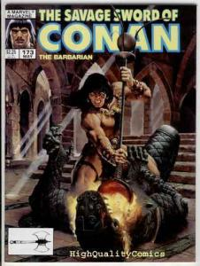 SAVAGE SWORD of CONAN #173, VF+, Ernie Chan, Mercenary, more SSOC in store